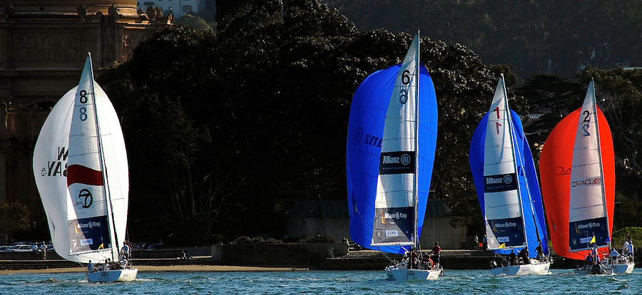 Allianz Cup Match Racing with the Pros on San Francisco Bay